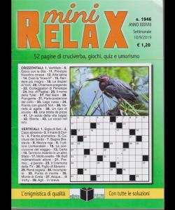 Mini Relax - n. 1946 - settimanale - 10/9/2019