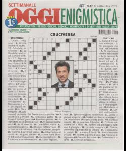 Settimanale Oggi Enigmistica - n. 37 - settimanale - 17 settembre 2019