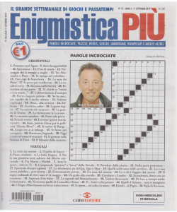 Enigmistica Piu' - n. 37 - 17 settembre 2019 - settimanale