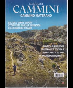 Meridiani Cammini - Cammino Materano - n. 2 - trimestrale - settembre - ottobre 2019 -