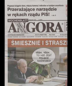 Angora - n. 37 - 9/15/9/2019 - in lingua polacca