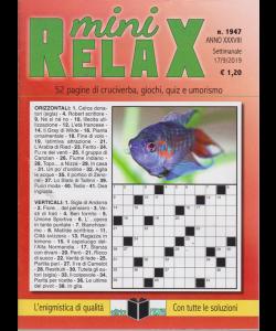 Mini Relax - n. 1947 - settimanale - 17/9/2019 -