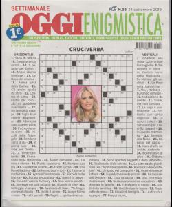 Settimanale Oggi Enigmistica - n. 38 - 24 settembre 2019 -
