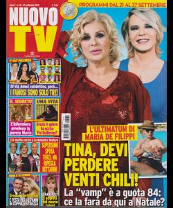 Nuovo Tv - n. 38 - 23 settembre 2019 - settimanale -