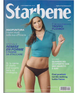 Starbene - n. 40 - 17 settembre 2019 - settimanale