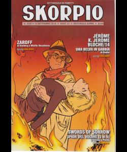 Skorpio - n. 2220 - 19 settembre 2019 - settimanale di fumetti