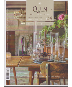 Quin - Quaderno di Interni - n. 34 - bimestrale - settembre - ottobre 2019 -