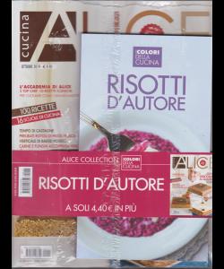 Alice Cucina + il libro I colori della cucina - Risotti d'autore - n. 10 - ottobre 2019 - mensile