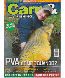 Carp E Catfishing - n. 40 - bimestrale - ottobre 2019/gennaio 2020