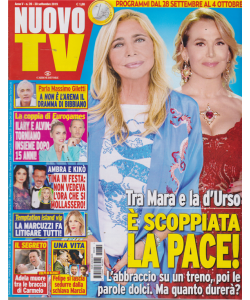 Nuovo Tv - n. 39 - 30 settembre 2019 - settimanale
