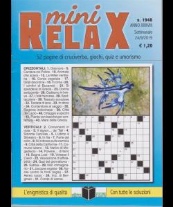 Mini Relax - n. 1948 - settimanale - 24/9/2019 -