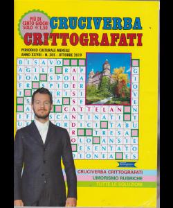 Cruciverba crittografati - n. 305 - mensile - ottobre 2019 -