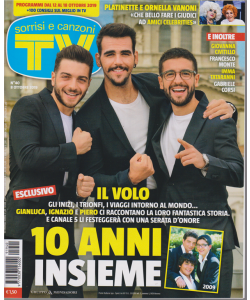 Sorrisi E Canzoni Tv - n. 40 - 8 ottobre 2019 - settimanale