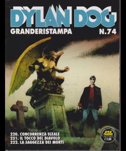 Dylan Dog Granderistampa n. 74 - 5 dicembre 2018 - bimestrale -