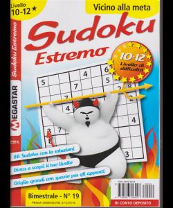 Sudoku estremo - n. 19 - bimestrale - 3/12/2018 - livello 10-12