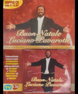 Cd Sorrisi Canzoni - n. 3 - settimanale -Buon Natale Luciano Pavarotti - doppio cd - 4 dicembre 2018