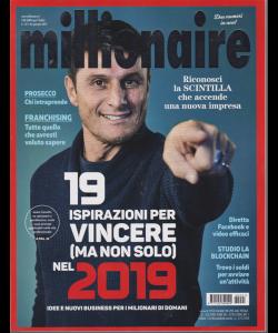 Millionaire - n. 1 - mensile - dicembre - gennaio 2019 -