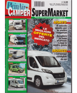 Camper E Caravan  Supermarket - n. 8 - dicembre/gennaio 2019 - bimestrale