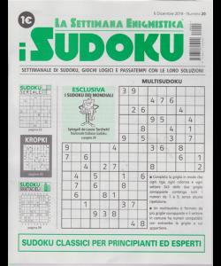 La settimana enigmistica - i sudoku - n. 20 - 6 dicembre 2018 - settimanale