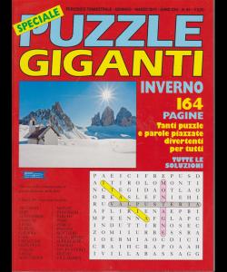 Speciale Puzzle Giganti - Inverno - trimestrale - gennaio marzo 2019 - n. 94 - 164 pagine