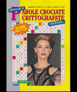 Speciale Parole Crociate crittografate - inverno - n. 77 - trimestrale - gennaio - marzo 2019 - 196 pagine