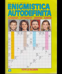 Enigmistica Autodefinita - n. 347 - mensile - gennaio 2019