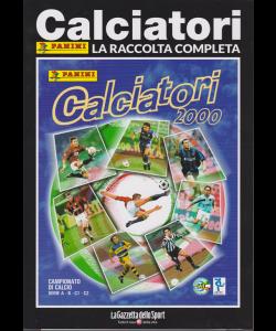 Album Storici Panini - Calciatori 2000 - La raccolta completa - n. 13 - settimanale