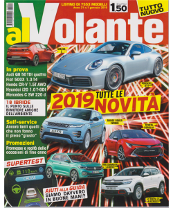 Al volante - n. 1 - gennaio 2018 -