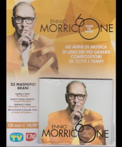 CD Sorrisi e Canzoni -n. 5 - settimanale - Ennio Morricone - years of music - 23 magnifici brani