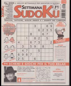 Settimana sudoku - n. 696 - settimanale - 14 dicembre 2018 -