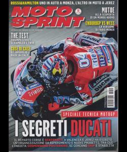 Moto Sprint - n. 50 - 11/17 dicembre 2018 - settimanale