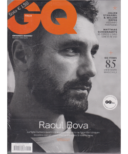 GQ Italia - n. 225 - dicembre 2018 - mensile + GQ Inc. - 2 riviste