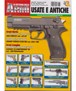 La Vetrina Delle Armi - Usate E Antiche - n. 163 - dicembre 2018 - mensile