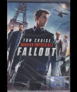 I Dvd Cinema Di Sorrisi - Tom Cruise Mission :impossible Fallout - n. 2 - settimanale - gennaio 2019 -