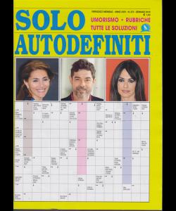 Solo Autodefiniti - n. 273 - mensile - gennaio 2019 -