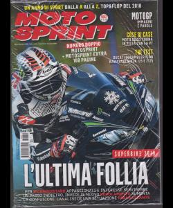 Motosprint - n. 51/52 - 18/31 dicembre 2018 - settimanale - 2 riviste