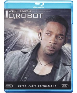 IO, ROBOT - WILL SMITH - FILM BLU RAY