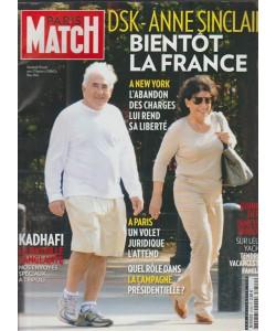 PARIS MATCH n.3249 du 25 au 31 aout 2011