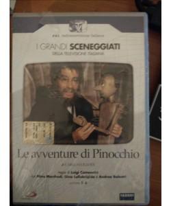 I GRANDI SCENEGGIATI DELLA TELEVISIONE ITALIANA-Le Avventure Di Pinocchio - pt 1-6 DVD