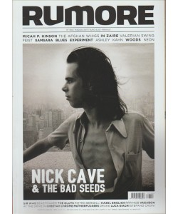 "RUMORE - mensile n. 304 Maggio 2017 ""Nick Cave & the Bad Seeds"