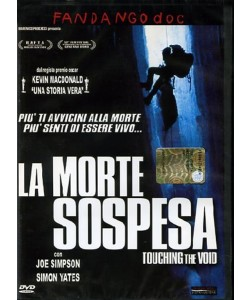 La Morte Sospesa - Touching The Void - Nicholas Aaron - DVD