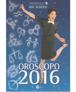 Oroscopo 2016 di ADA ALBERTI direttamente da Canale 5