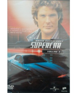 SUPERCAR STAGIONE 2 volume 5 italiano David Hasselhoff - DVD