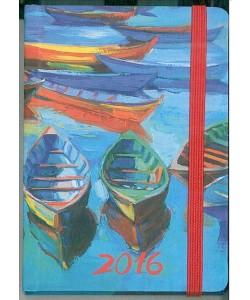 Agenda 2016 Giornaliera 7x10cm-Mod.115 TascaUno-Cangini Filippi mare