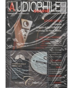 Audiophile Sound - mensile n. 147 Novembre 2015 + CD The Vinyl Collection