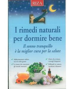 I rimedi naturali per dormire bene - Edizioni RIZA