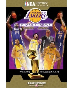 LOS ANGELES LAKERS CAMPIONI 2002 n.6