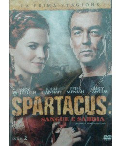 Spartacus - Sangue E Sabbia - Stagione 01 - DVD n.2