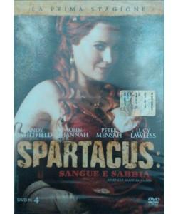 Spartacus - Sangue E Sabbia - Stagione 01 - DVD n.4