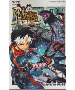 Manga: Monster Hunter Epic 003 - J-POP ediz.